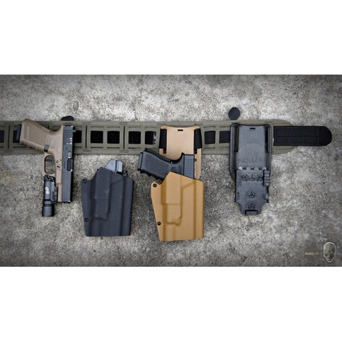 TMC Light-Compatible Range Kydex Holster for G17 & X300