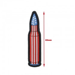 Waterfull America Bullet Patch (USA)