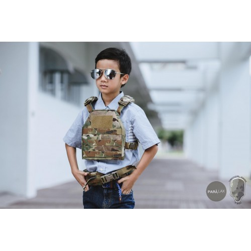 TMC Tactical Child Plate Carrier Set
