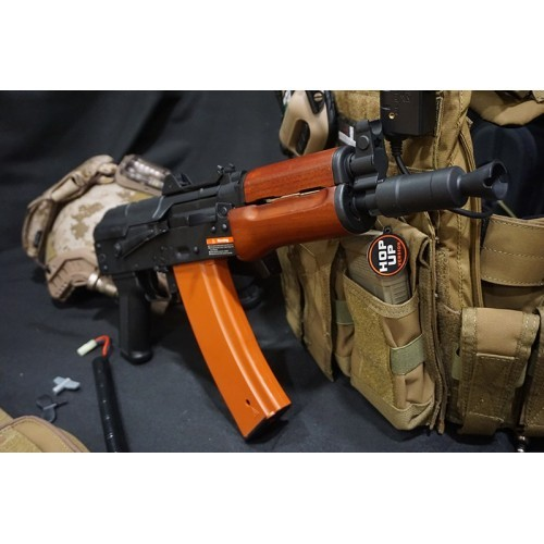 JG Full Metal AK74U AEG Carbine