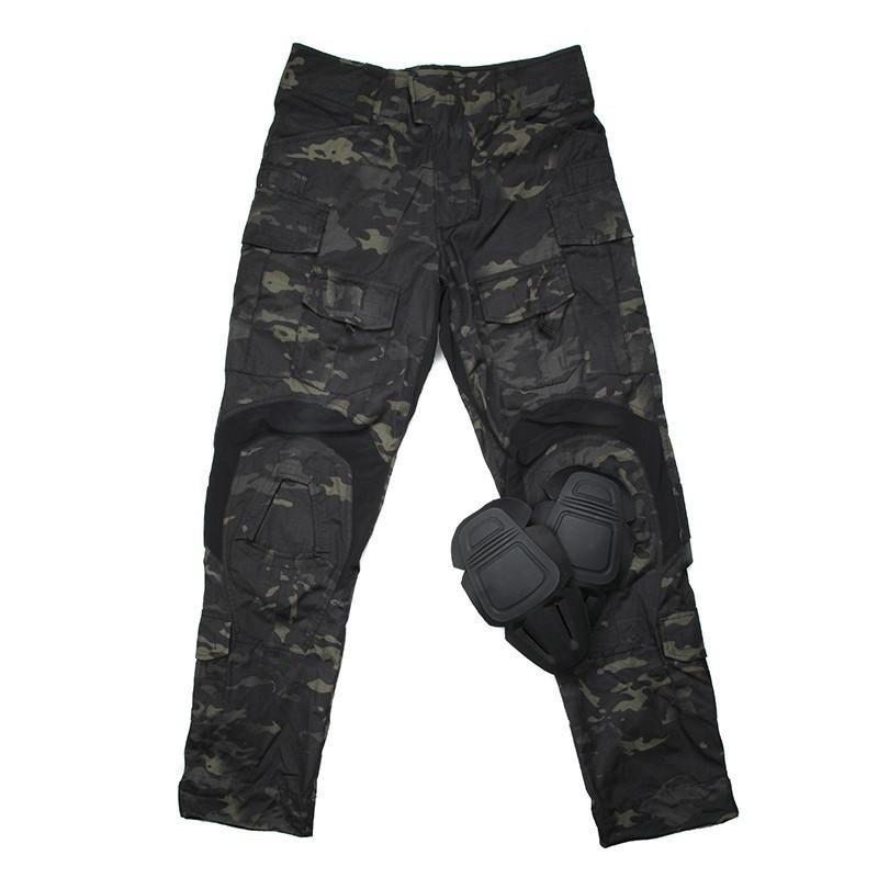 TMC Gen3 Origianl Cutting Combat Trouser with Knee Pads 2018 Version (Mulitcam Black)