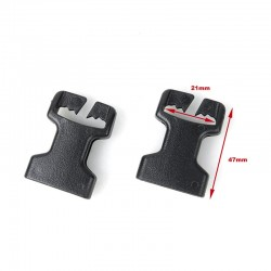 TMC 1 Inch Open Top Nylon Buckle