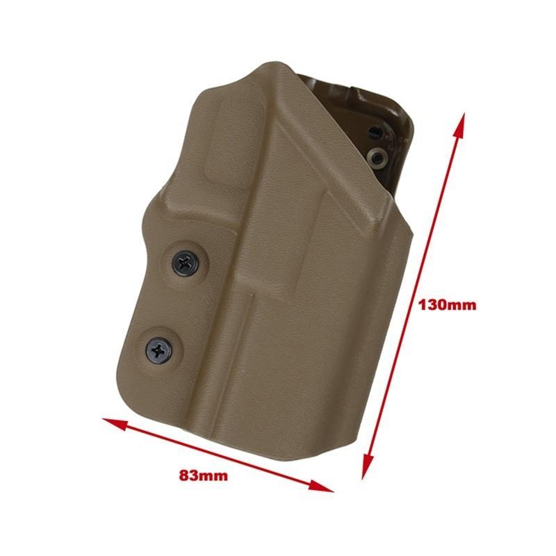 TMC Standard Kydex Hoslter for G17 (2018 Version)