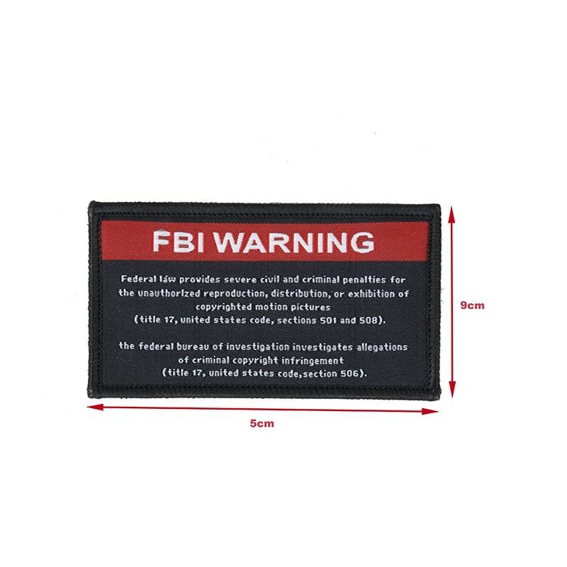 MKUN FBI Warning Patch