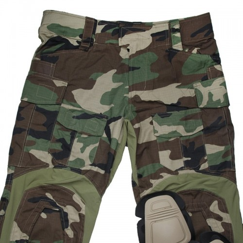 TMC Gen3 Origianl Cutting Combat Trouser with Knee Pads 2018 Version (WoodLand)