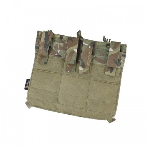 TMC Removable Front Flap with M4 Triple Pouch with Inserts for Assault Echo Plate Carrier Vest