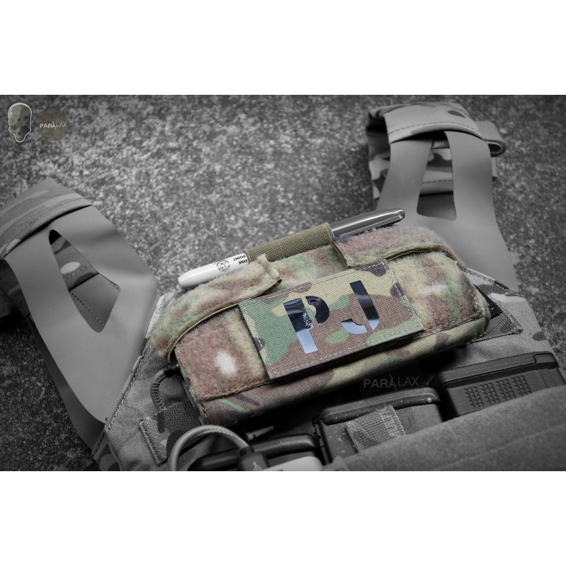 TMC2377 Folding Dapper Surface Admin Pouch 500D Matte Cordura for Tactical Vest