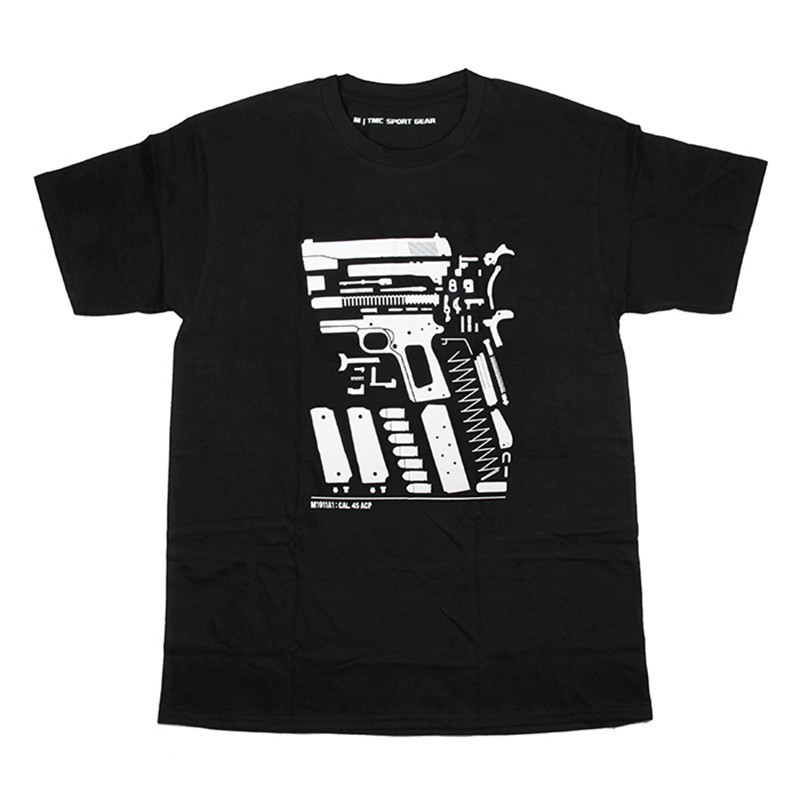 TMC Exploded View 1911 Style One Way Dry T Shirt