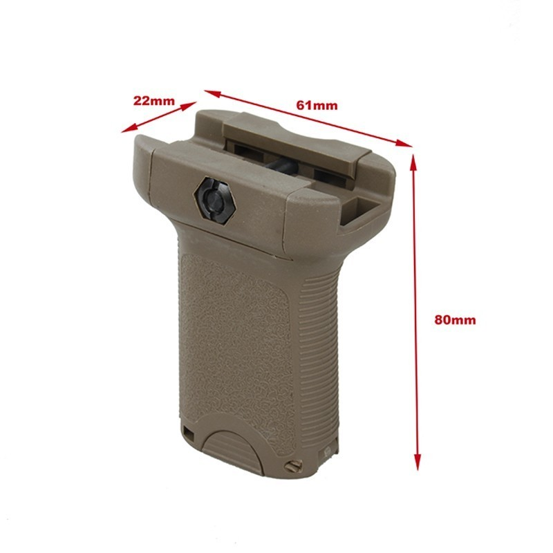 TMC Vertical Picatinny Short Grip