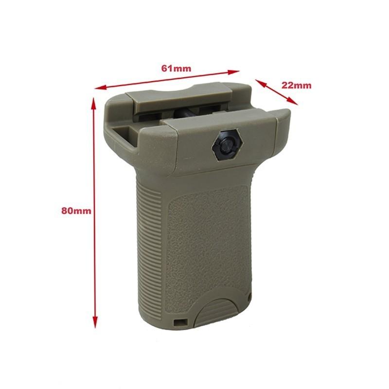 TMC Vertical Picatinny Short Grip