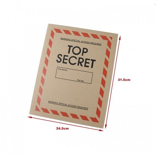 Waterfall Top Secret Style Patches Storage Book