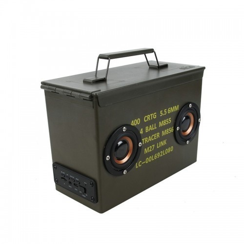 Waterfull 5.56 Bullet Ammo Box Speaker