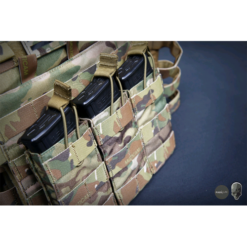 TMC Tactical Open-Top Triple Mag Pouch