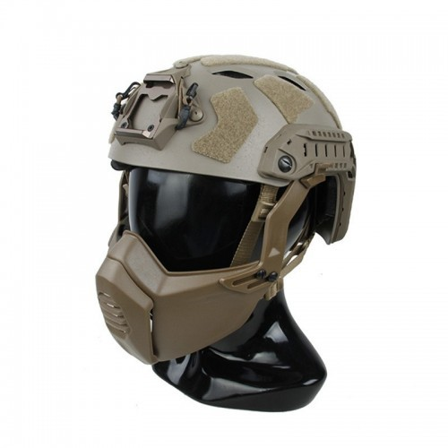 TMC Super Flowing Helmet Light Version with Modular Lightweight Mask (M-L size)
