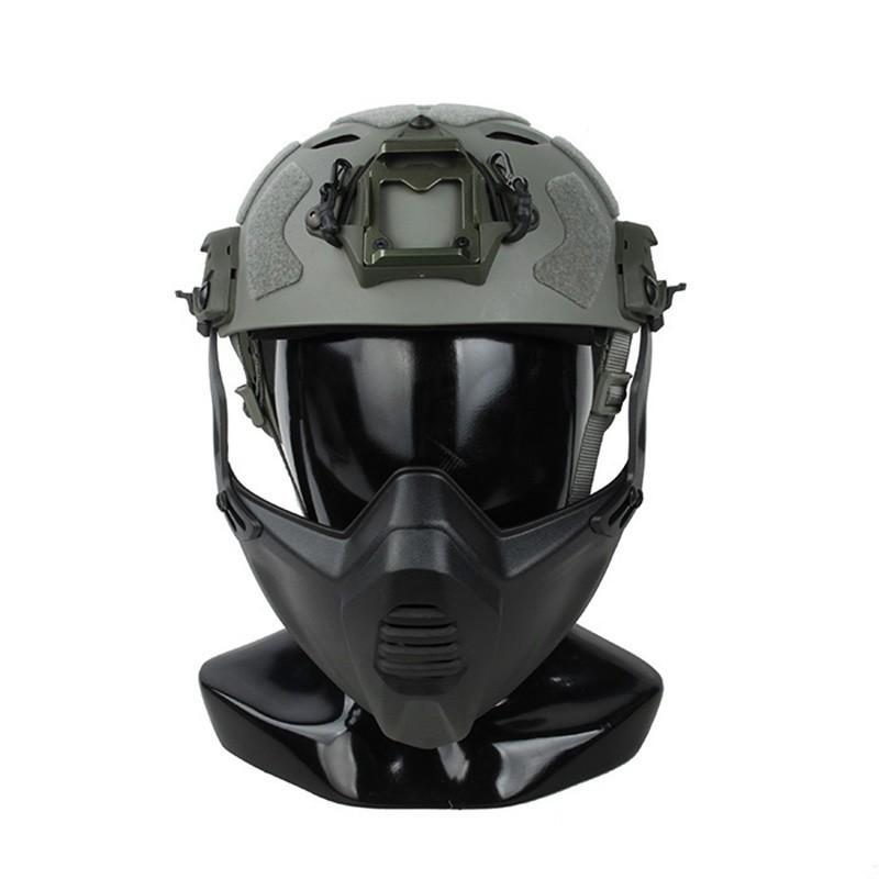 TMC Super Flowing Helmet Light Version with Modular Lightweight Mask (M-L size)