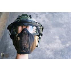 TMC Metal Mesh Half Face Airsoft Mask 2.0