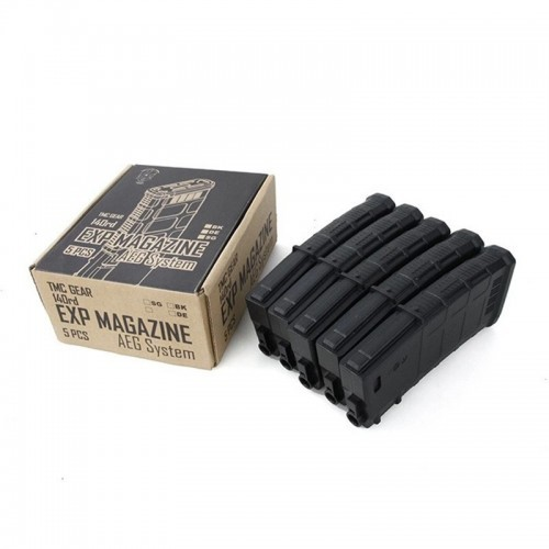 TMC 75Rds M4 Series AEG Mag Set (5 Pieces)