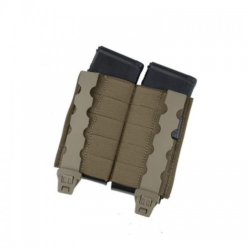 TMC Lightweight Double 5.56 Tall PWI Mag Pouch Set