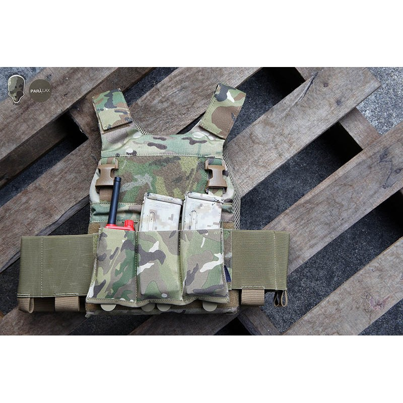 TMC Tactical Strike Triple Mag Pouch (2018 Version)