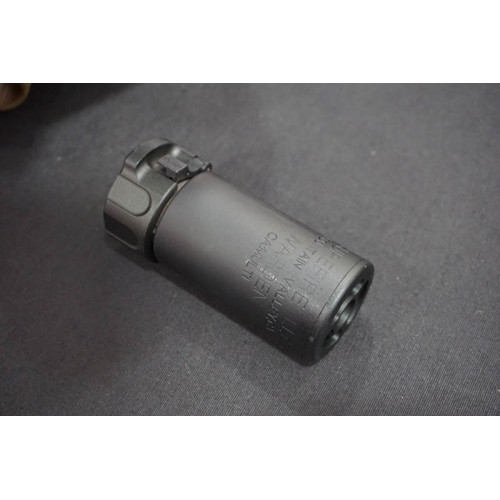5KU QD AAC Style SOCOM MINI Blast Silencer with -14mm CCW Flash Hider - Version 2