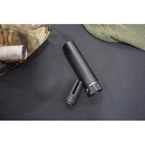 5KU QD AAC Style SOCOM 556 MINI Silencer with -14mm CCW Flash Hider