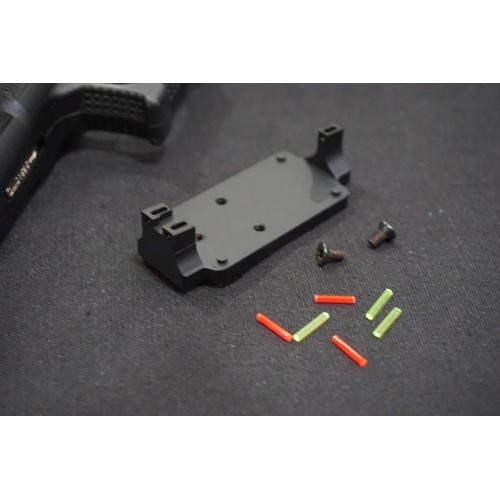 5KU Aluminum RMR Fiber Sight Base Mount for G Series