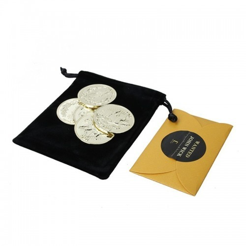 Thomas Cow John Wick Gold Coin Set