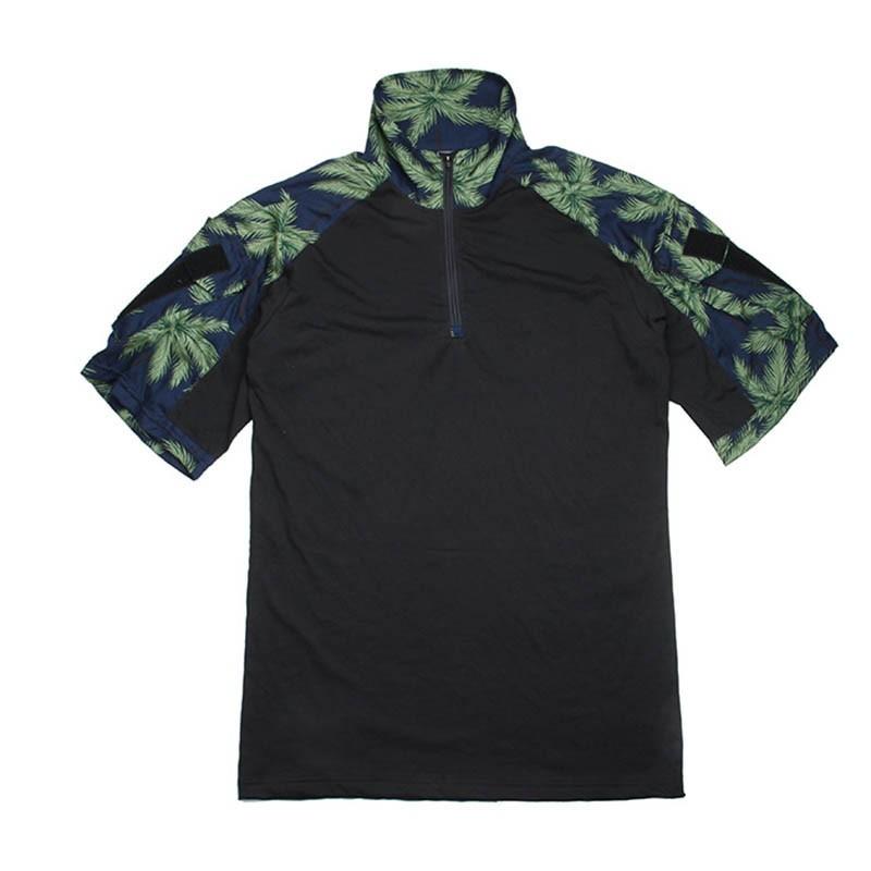 TMC Hawaiian Gen3 Combat Shirt Short Sleeve Version (Blue)