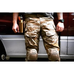 TMC Gen3 Origianl Cutting Combat Trouser with Knee Pads 2018 Version (Desert Tiger Stripe)
