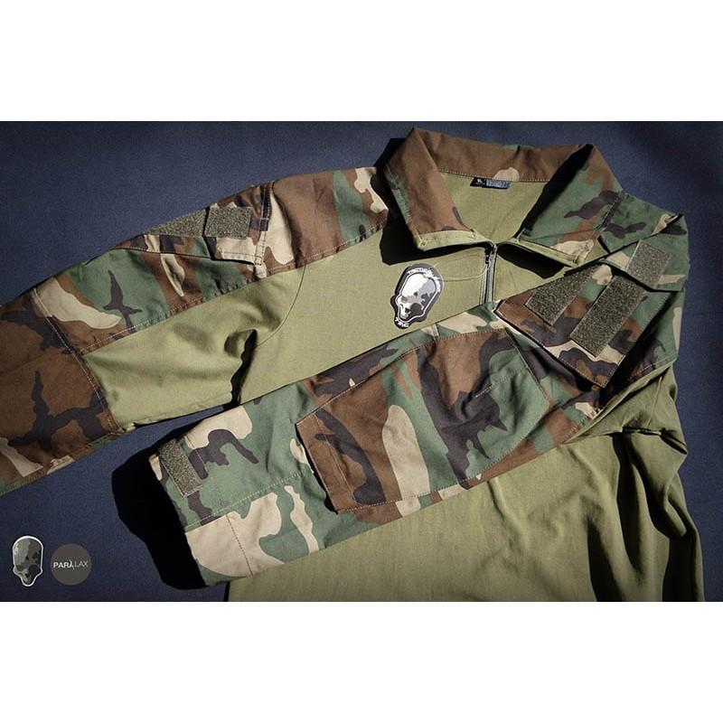 TMC Gen3 Original Cutting Combat Shirt 2018 Version (WoodLand)