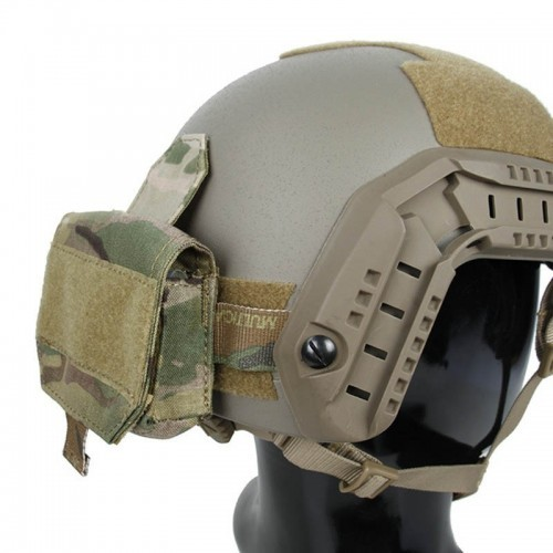 TMC Lightweight Helmet Mounted 4 CR123 Battery Pouch