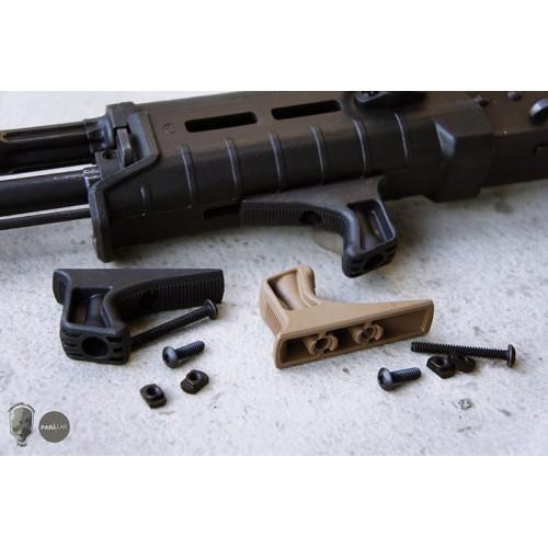 TMC Nylon GunWairror Kinesthetic Angled Handstop for M-Lock