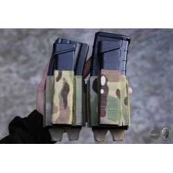 TMC Lightweight 5.56 + 9mm Shorty PWI Mag Pouch Set