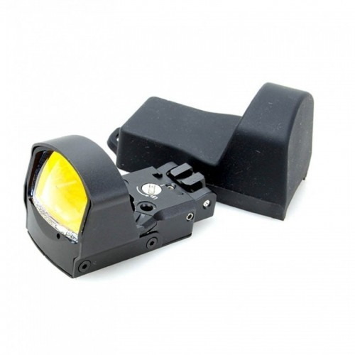 Sotac Lightweight Delta Point Pro Rear Iron Red Dot Sight with Cross Slot Riser