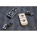 TMC Nylon M-Lock 3 Slot Picatinny Section Set