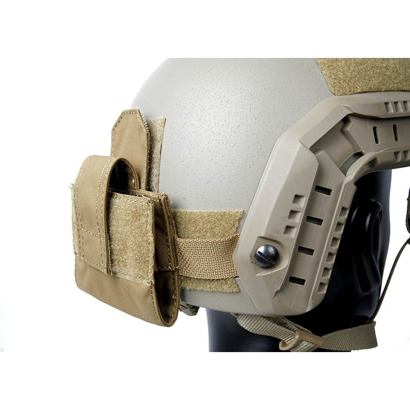 TMC Lightweight Helmet Mounted 4 AA Battery Pouch