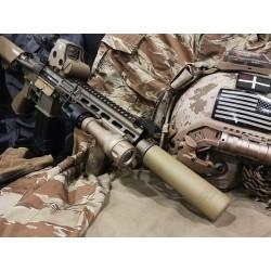 5KU QD AAC Style SOCOM 556 Silencer with -14mm CCW Flash Hider