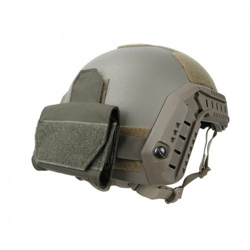 TMC Helmet Mounted Helmet 4 CR123 Battery Pouch