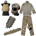 TMC Full Set (Uniform / Saber PC / Belt / SF Helmet / Pouch)