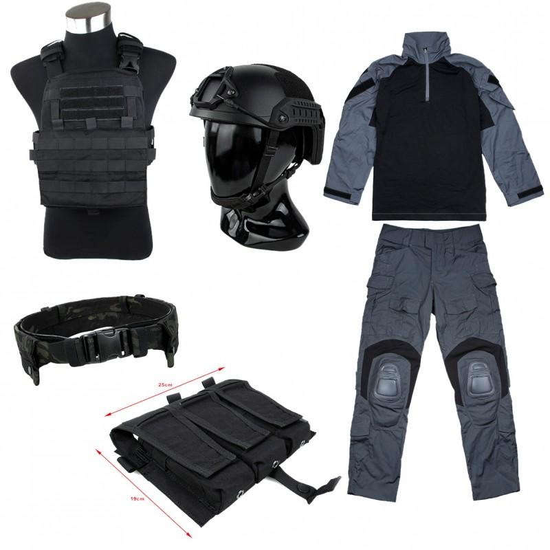 TMC Full Set (Uniform / AVS / Belt / Maritime Helmet / Pouch)