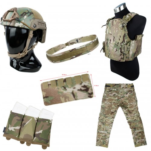 TMC Full Set (Gen4 Trouser / Assault PC / Belt / Maritime Helmet / Pouch)