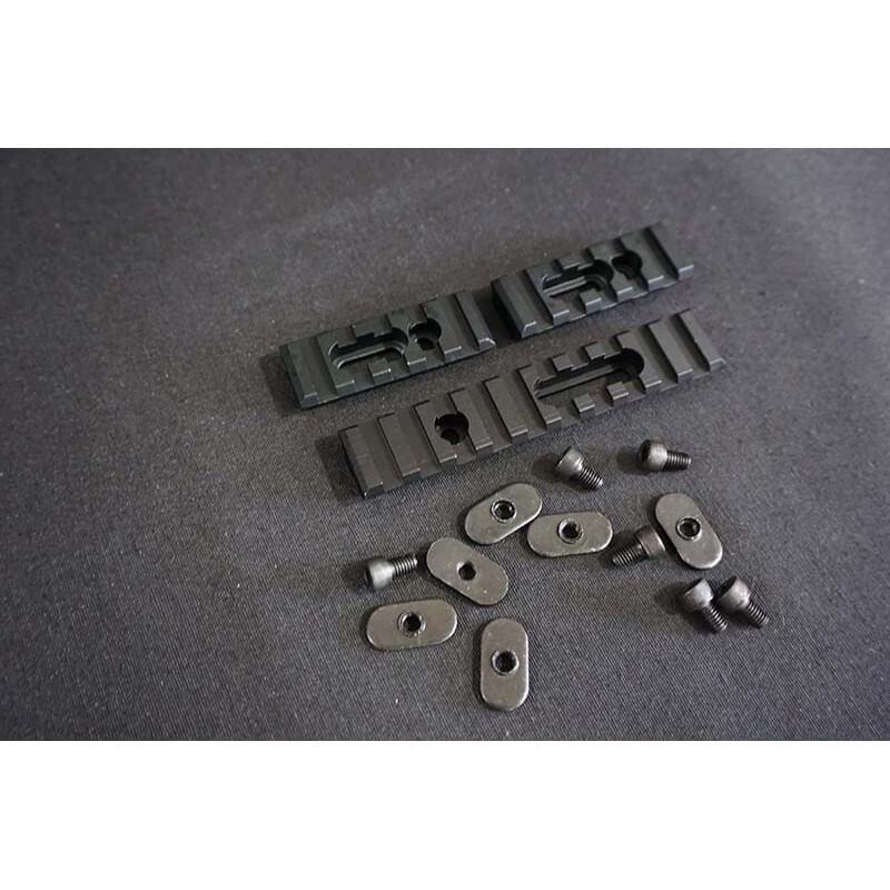 Will CNC Aluminum Rail Set