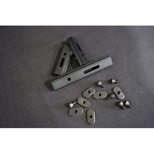 Will CNC Aluminum Rail Set