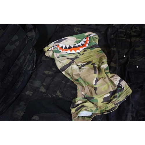 Laylax Satellite Slim Shark Mouth Cool Neck Scarves