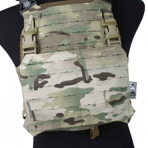 The Black Ships Lightweight Laser Cut Molle Front Panel