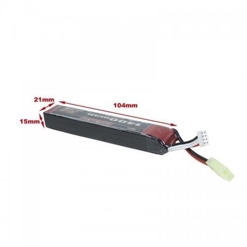 AHTech Infinity 11.1V 1400MAH 30C Stick Lipo Battery