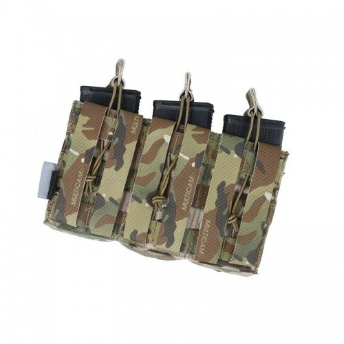 The Black Ships Triple Rilfe and Pistol Mag Pouch
