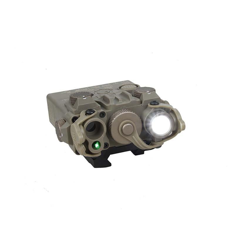 Sotac AN/PEQ 15 Double Beam Aiming Laser Advanced 2 Plastic Version (Green Laser)