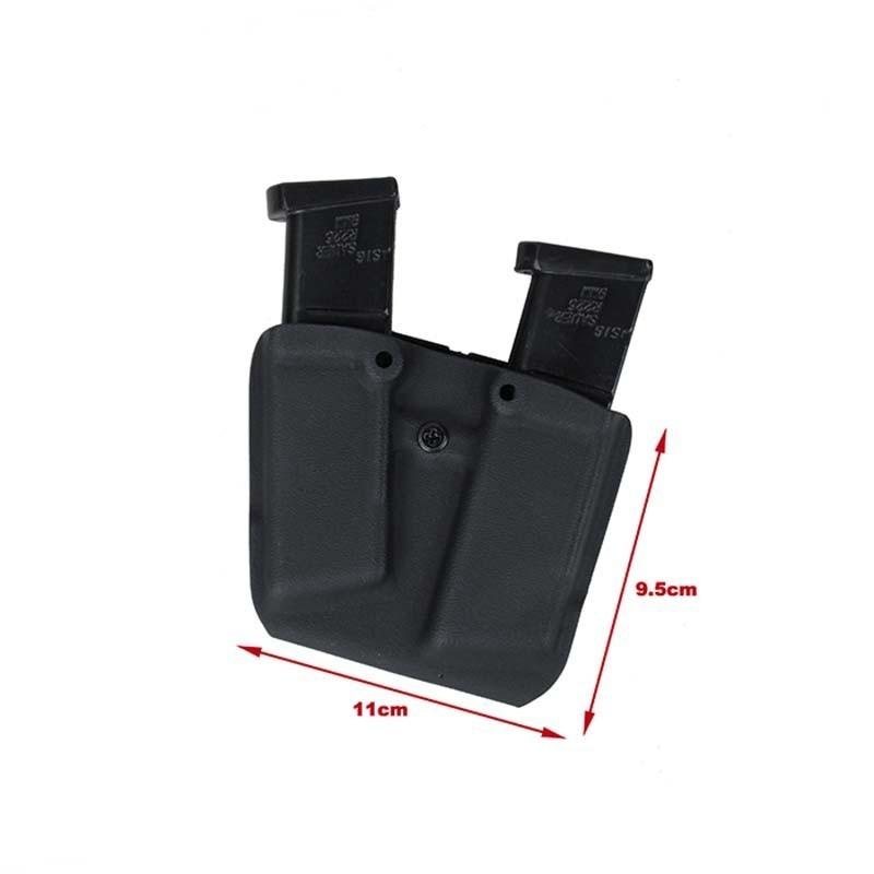 TMC Lightweight Kydex Double Pistol Holster 2.0 for G17
