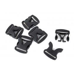 Duraflex 1.5Inch V-Shaped Stealth Vee Buckle Set